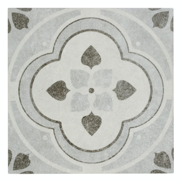Toledo Rosa traditional matt wall and floor tile 200mm x 200mm
