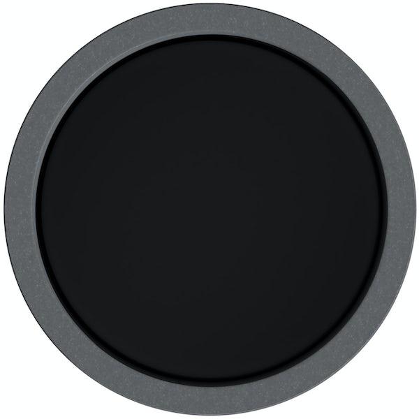 Accents dark grey tumbler