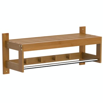 Accents Bamboo towel shelf
