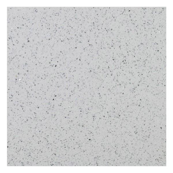 Galaxy white quartz wall and floor tile 300mm x 300mm