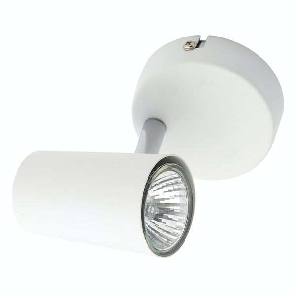 Forum Chara white 1 light kitchen ceiling light