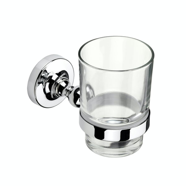 Croydex Worcester tumbler and holder