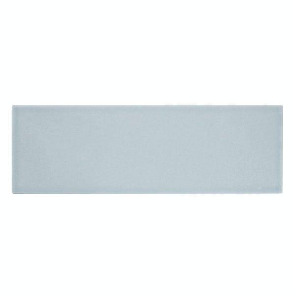 Clermont duck egg blue flat matt wall tile 100mm x 300mm