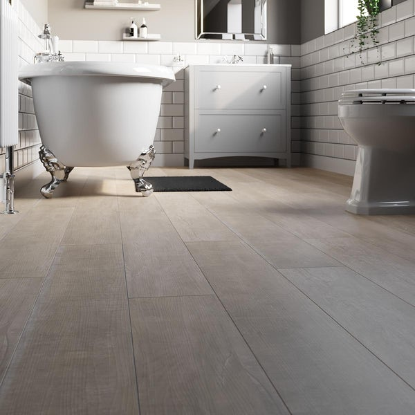 Point warm maple SPC flooring 5mm