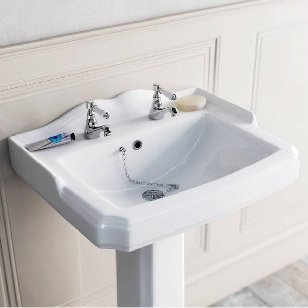 The Bath Co. Winchester basin pillar taps
