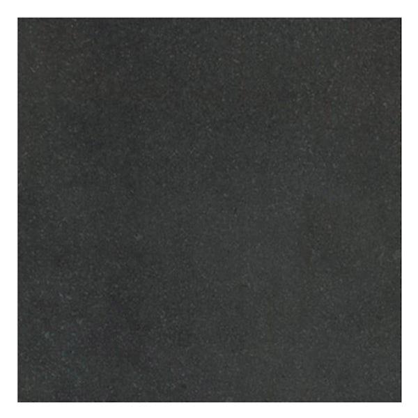 Faro black stone effect flat matt wall and floor tile 600mm x 600mm