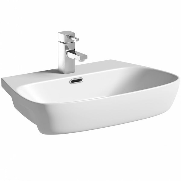 Foster Semi Recessed Basin