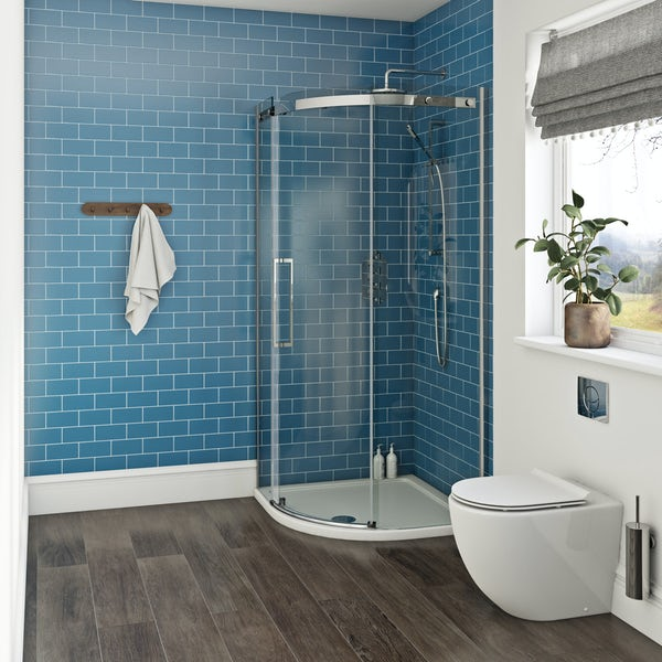 Mode Harrison 10mm easy clean quadrant shower enclosure 900 x 900