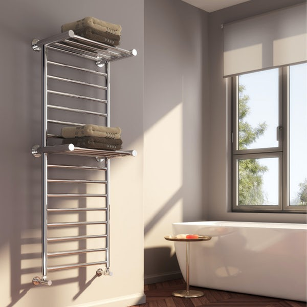 Reina Adena stainless steel designer radiator 1300 x 532mm