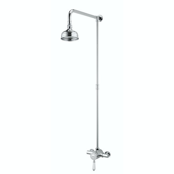 Bristan Colonial 2 exposed riser rail shower system