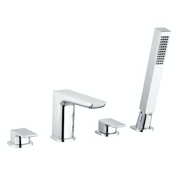 Mode Foster chrome bath shower mixer tap