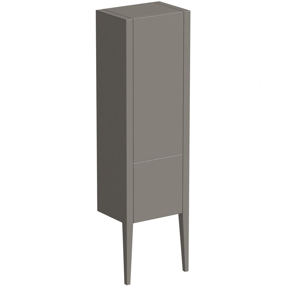 Mode Hale greystone matt storage cabinet