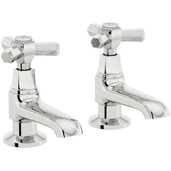 The Bath Co. Beaumont basin pillar taps
