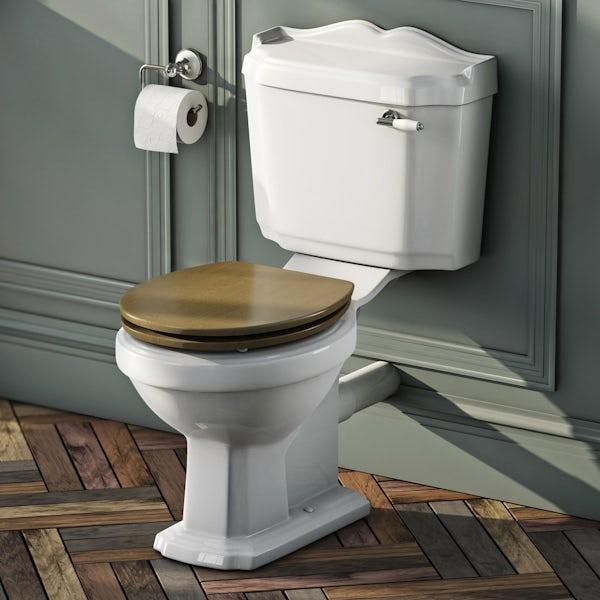 Winchester Bathroom set with Quadrant Enclosure 800 & Tray