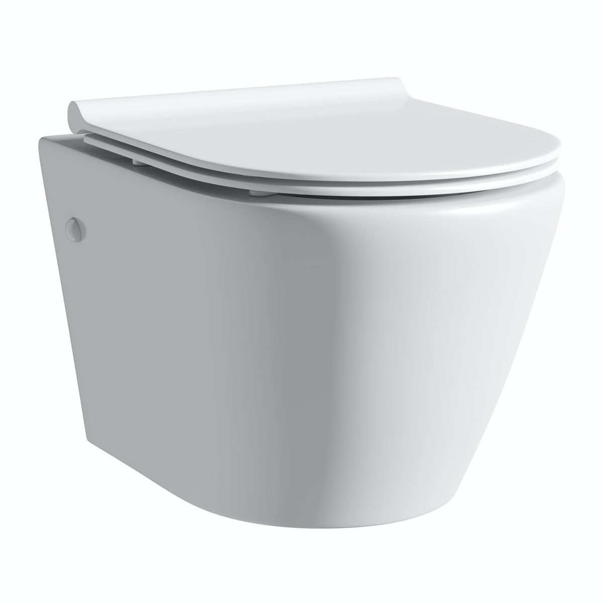 Mode Harrison wall hung toilet inc slimline soft close seat