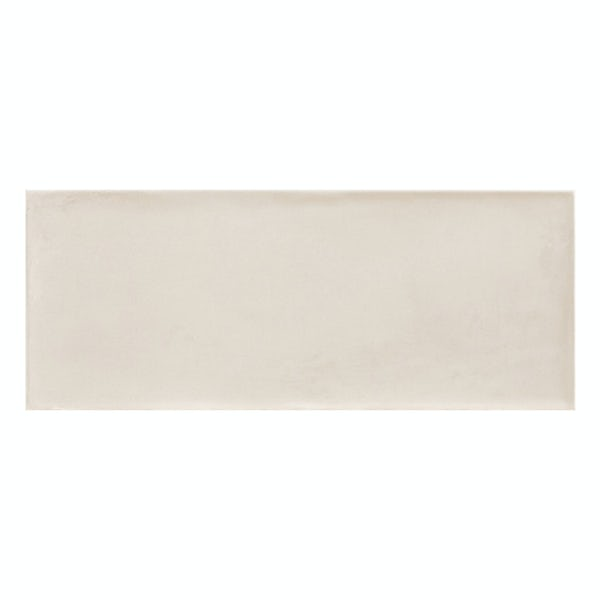 Chateau cream bumpy matt wall tile 200mm x 500mm