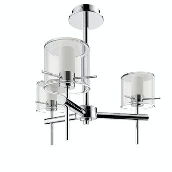 Forum Solis cylinder 3 light bathroom ceiling light