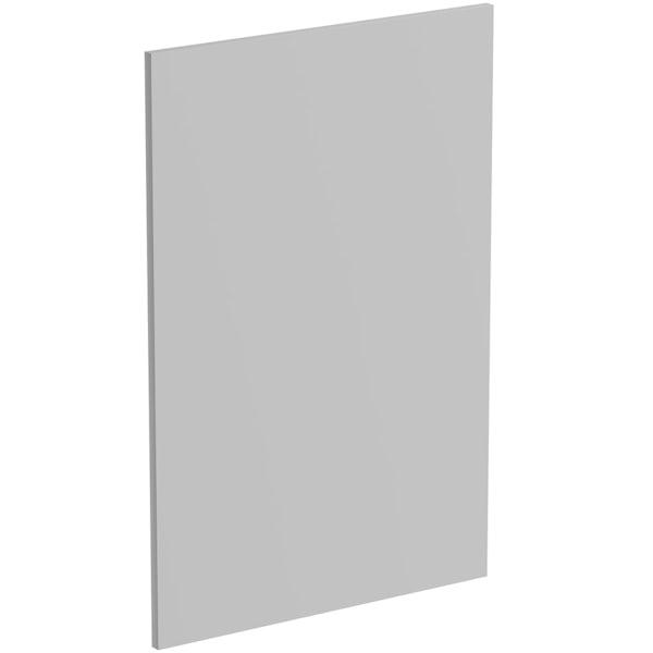 Schon Boston light grey 600mm wall end panel