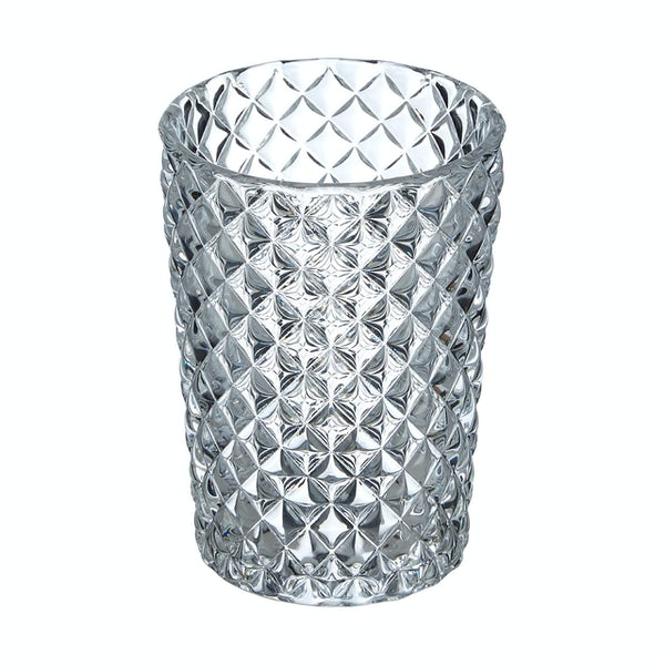 Accents Diamond clear glass tumbler