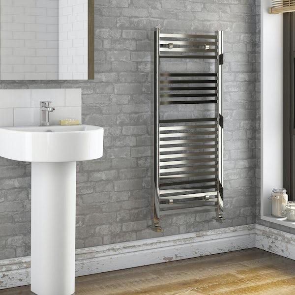 Rustic Brick Sidewall - Silver