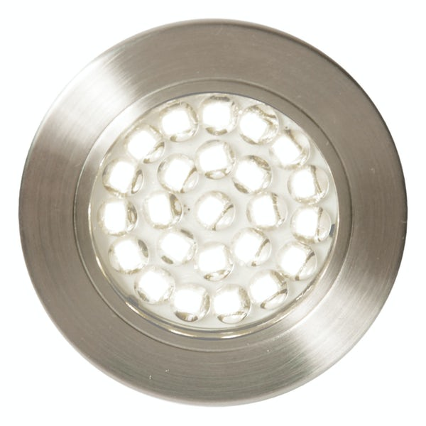 Forum Luz 1.5w daylight white LED satin nickel under cabinet light