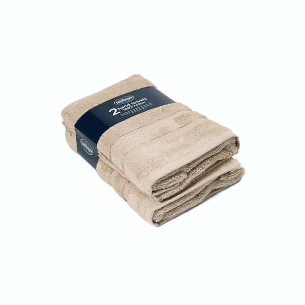 Silentnight Set of 2 Stone Hand Towel