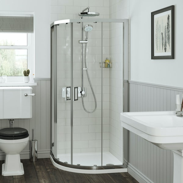 Mira Leap quadrant shower enclosure