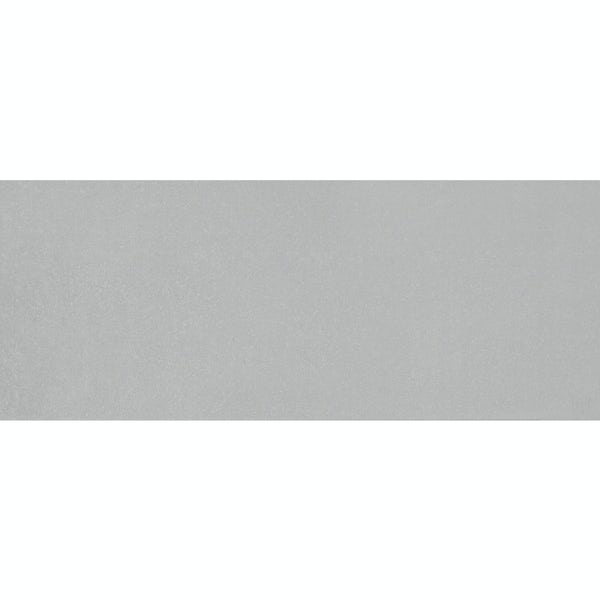 Drift light grey flat stone effect matt wall tile 200mm x 500mm