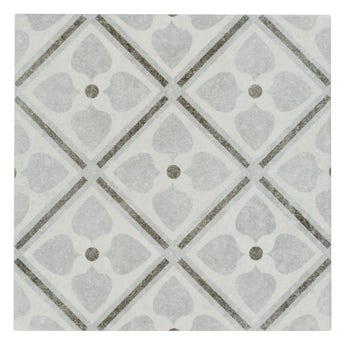 The Bath Co. Toledo Adora traditional matt wall and floor tile 200mm x 200mm