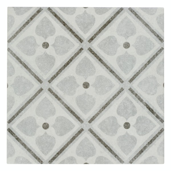 Toledo Adora traditional matt wall and floor tile 200mm x 200mm