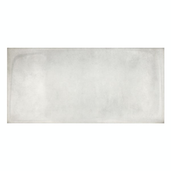 Verona white glazed gloss wall tile 100mm x 200mm