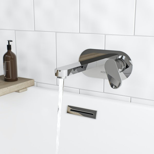 Mode Hardy wall mounted bath mixer tap