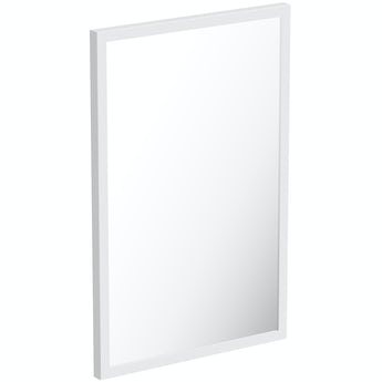Mode Hale white gloss mirror 550 x 800mm