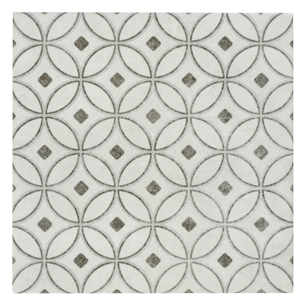 Toledo Alba traditional matt wall and floor tile 200mm x 200mm