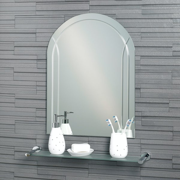 Showerdrape Soho arch mirror