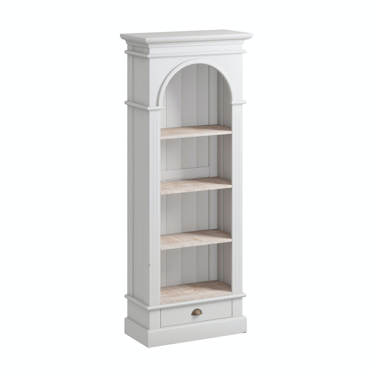 Reeves Austin French Grey Bookcase