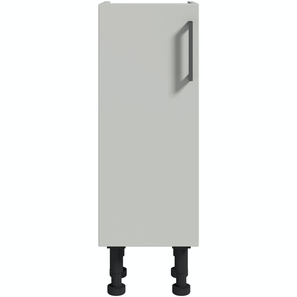 Reeves Wyatt light grey storage unit 870 x 300mm