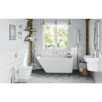Mode Foster complete freestanding bath suite