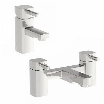 Orchard Elena basin and bath mixer tap pack