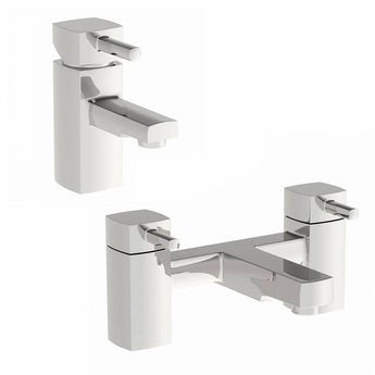 Orchard Elena basin and bath mixer tap pack