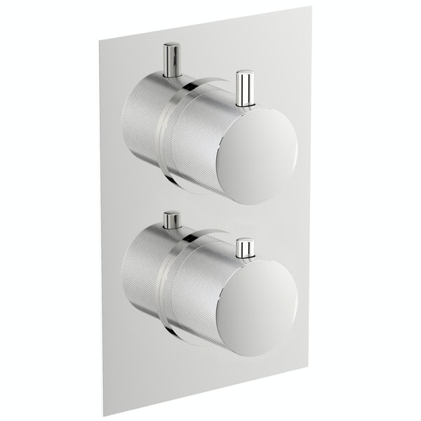 Mode Banks twin thermostatic shower valve