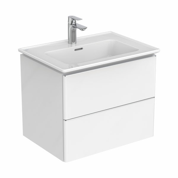Ideal Standard Strada II white wall hung vanity unit and basin 640mm