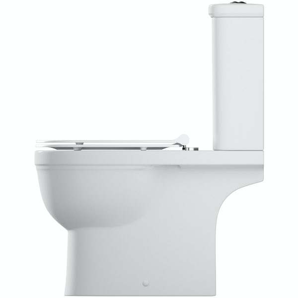 Orchard Elsdon close coupled toilet with soft close slim seat