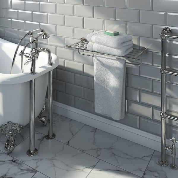 Accents premium traditional towel shelf