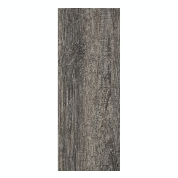 Malmo Senses Rigid click plank embossed 5G Brada Brown flooring 5.5mm