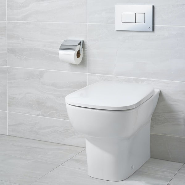 Ideal Standard Studio Echo Back To Wall Toilet With Soft