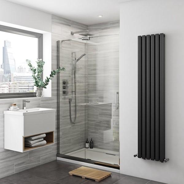 Mode Carter Premium 8mm Easy Clean Left Handed Sliding Shower Door