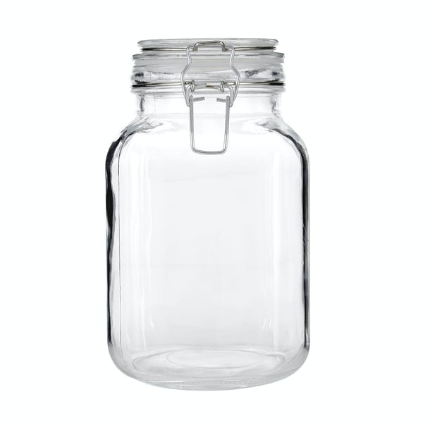 Glass 2000ml storage jar