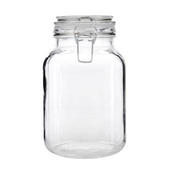 Glass 2000ml storage jar