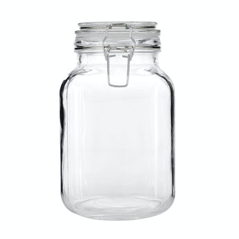 Accents Glass 2000ml storage jar